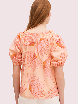 falling flower blouse by kate spade new york hover view