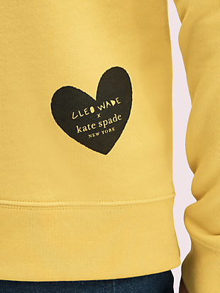 cleo wade x kate spade new york do it with love pullover by kate spade new york hover view