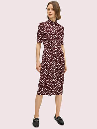 cloud dot shirtdress by kate spade new york non-hover view