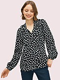cloud dot blouse, , s7productThumbnail
