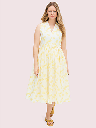 flora organza dress by kate spade new york hover view