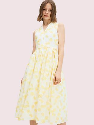 flora organza dress by kate spade new york non-hover view