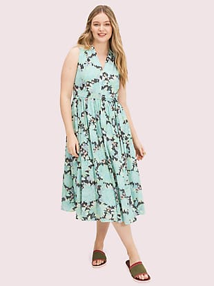 dahlia bloom burnout dress by kate spade new york hover view