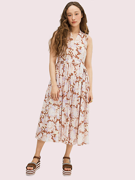 exotic bloom burnout dress by kate spade new york
