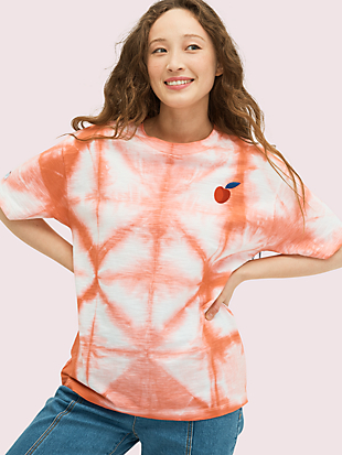 cherry tie-dye tee by kate spade new york non-hover view