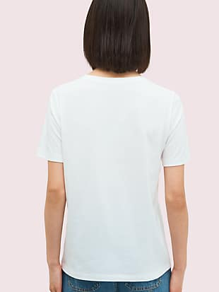 rainbow logo tee by kate spade new york hover view