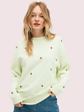 embroidered berry sweatshirt, , s7productThumbnail