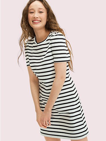 striped puff sleeve dress, , rr_productgrid