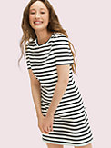 striped puff sleeve dress, , s7productThumbnail
