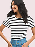 striped puff sleeve tee, , s7productThumbnail