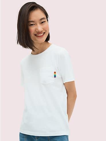 T-Shirt mit Logo in Regenbogenfarben, , rr_productgrid