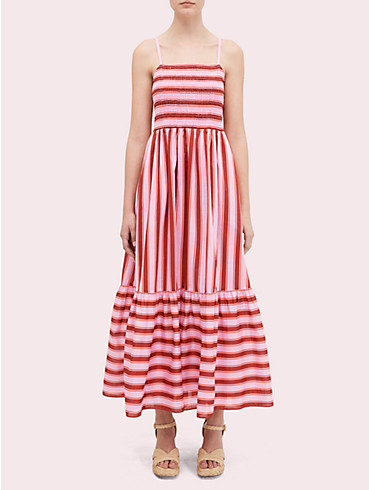 calais stripe smocked dress, , rr_productgrid