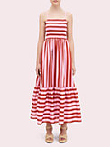 calais stripe smocked dress, , s7productThumbnail