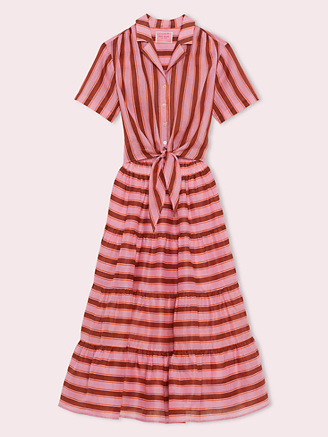 calais stripe shirtdress by kate spade new york