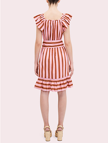 calais stripe flutter dress, , rr_productgrid