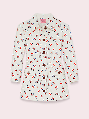cherry toss jacket by kate spade new york non-hover view