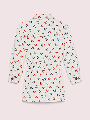 cherry toss jacket by kate spade new york hover view
