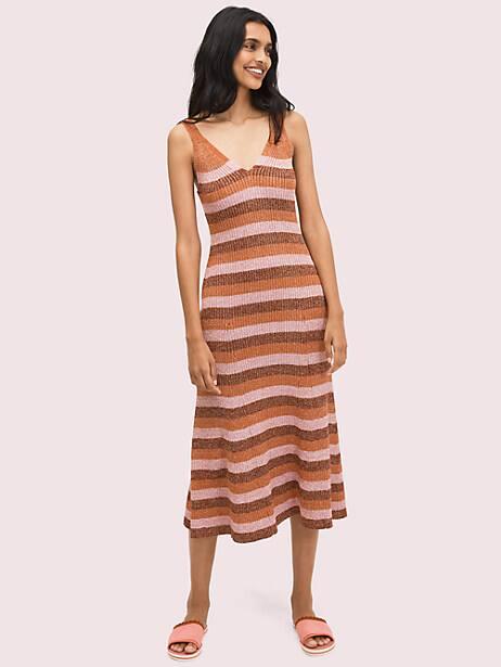 sparkle stripe sweater dress by kate spade new york