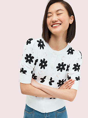 marker floral cardigan by kate spade new york non-hover view