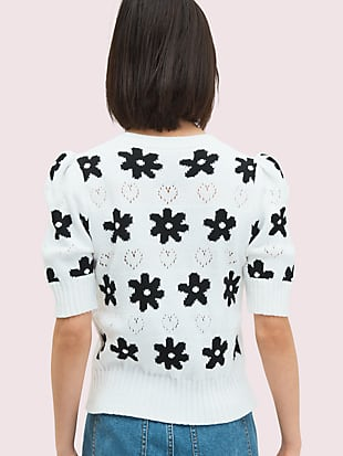 marker floral cardigan by kate spade new york hover view