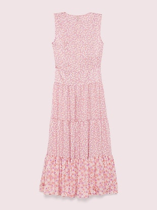 poppy field tiered dress by kate spade new york hover view