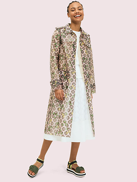 spade cherry translucent coat by kate spade new york