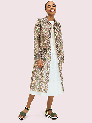 spade cherry translucent coat by kate spade new york non-hover view