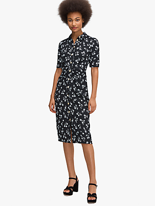 dandelion floral shirtdress by kate spade new york non-hover view