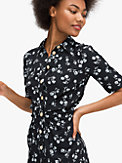 dandelion floral shirtdress, , s7productThumbnail