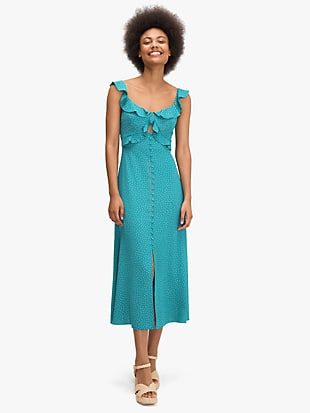 poolside dot dress by kate spade new york non-hover view