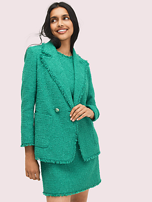 sequin tweed shift dress by kate spade new york hover view