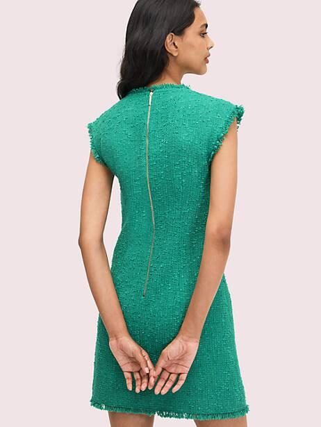 Sequin tweed shift dress | Kate Spade New York