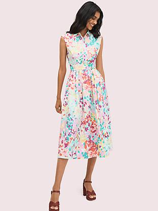 painted petals shirtdress by kate spade new york non-hover view
