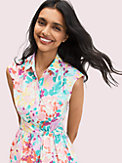 painted petals shirtdress, , s7productThumbnail