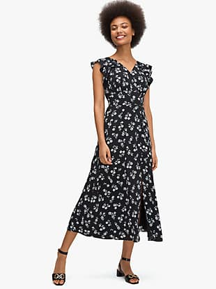 dandelion floral dress by kate spade new york non-hover view