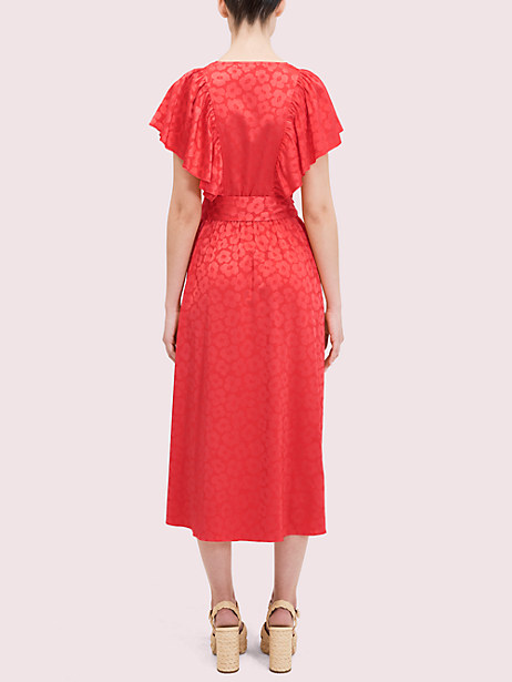 Poppy field jacquard dress | Kate Spade New York