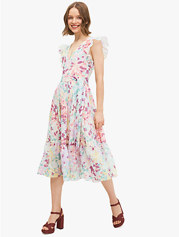 "Kleid mit Burnouts und ""Painted Petals""-Muster, , rr_productgrid"
