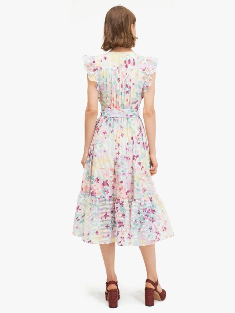 Painted petals burnout dress   Kate Spade New York