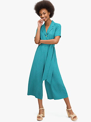 poolside dot jumpsuit by kate spade new york non-hover view