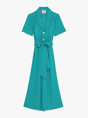 poolside dot jumpsuit by kate spade new york hover view