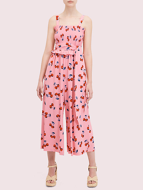 cherry toss jumpsuit by kate spade new york
