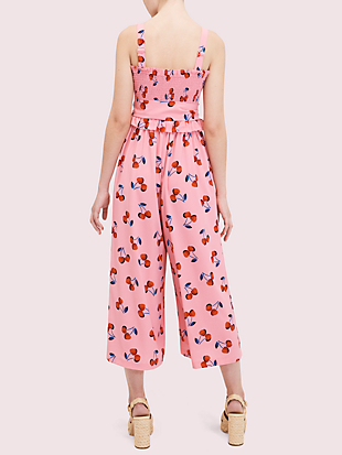 cherry toss jumpsuit by kate spade new york hover view