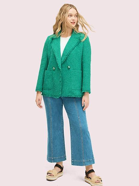 Sequin tweed blazer | Kate Spade New York