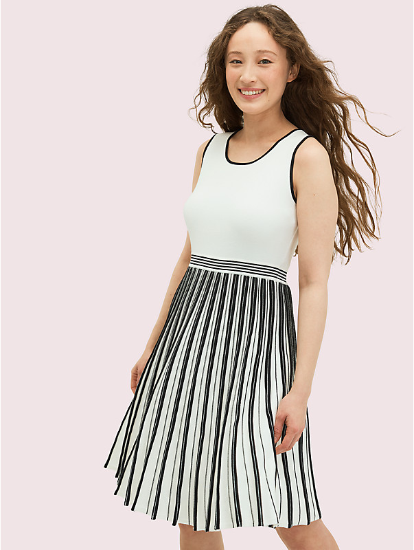 bicolor sweater dress, , rr_large