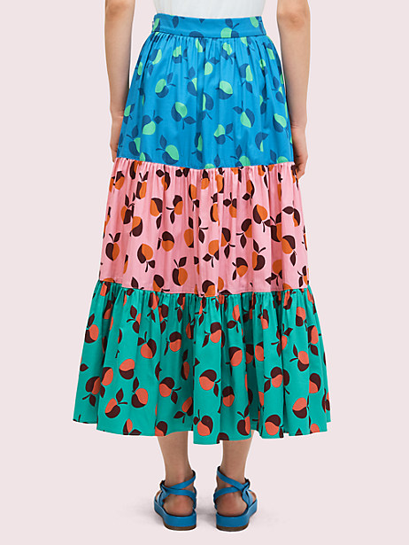 Colorblock apple skirt | Kate Spade New York