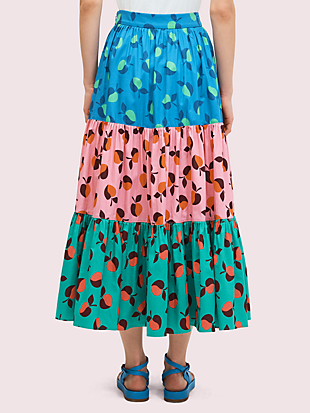 colorblock apple skirt by kate spade new york hover view