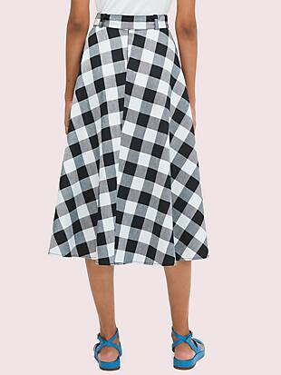 gingham skirt by kate spade new york hover view