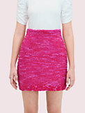 knit tweed skirt, , s7productThumbnail