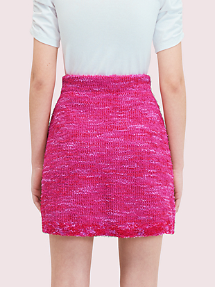 knit tweed skirt by kate spade new york hover view