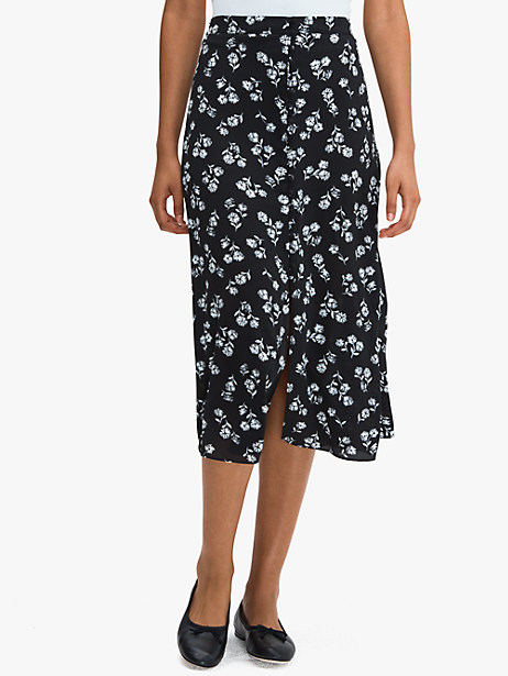 dandelion floral skirt by kate spade new york
